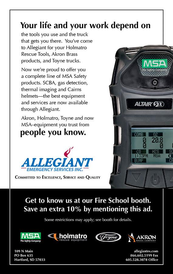 Print ad, Fire School