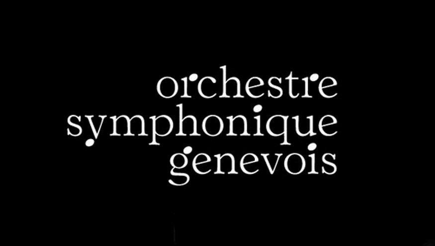 Identity design for the Orchestre Symphonique Genevois