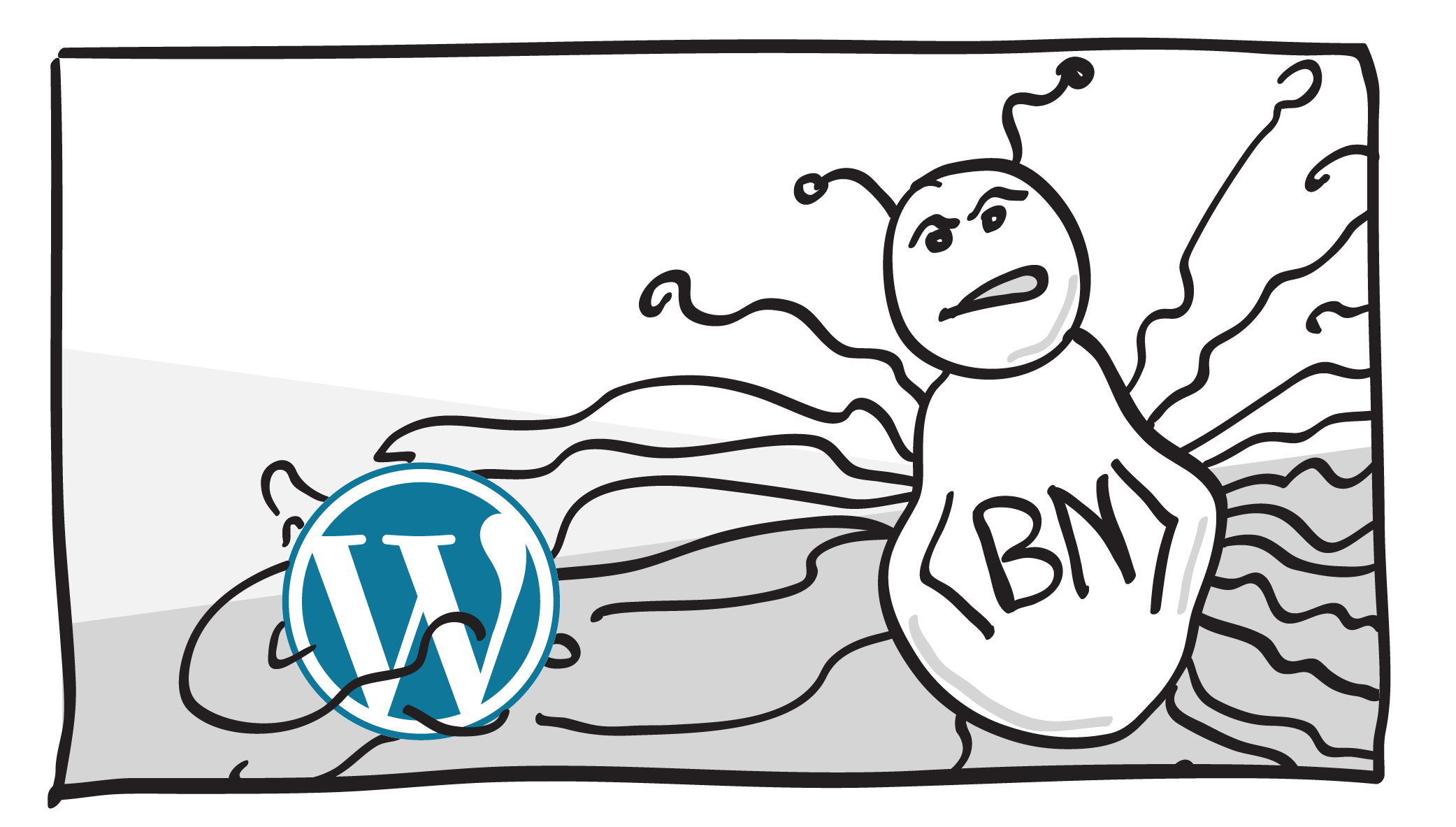 World wide botnet attacks WordPress sites