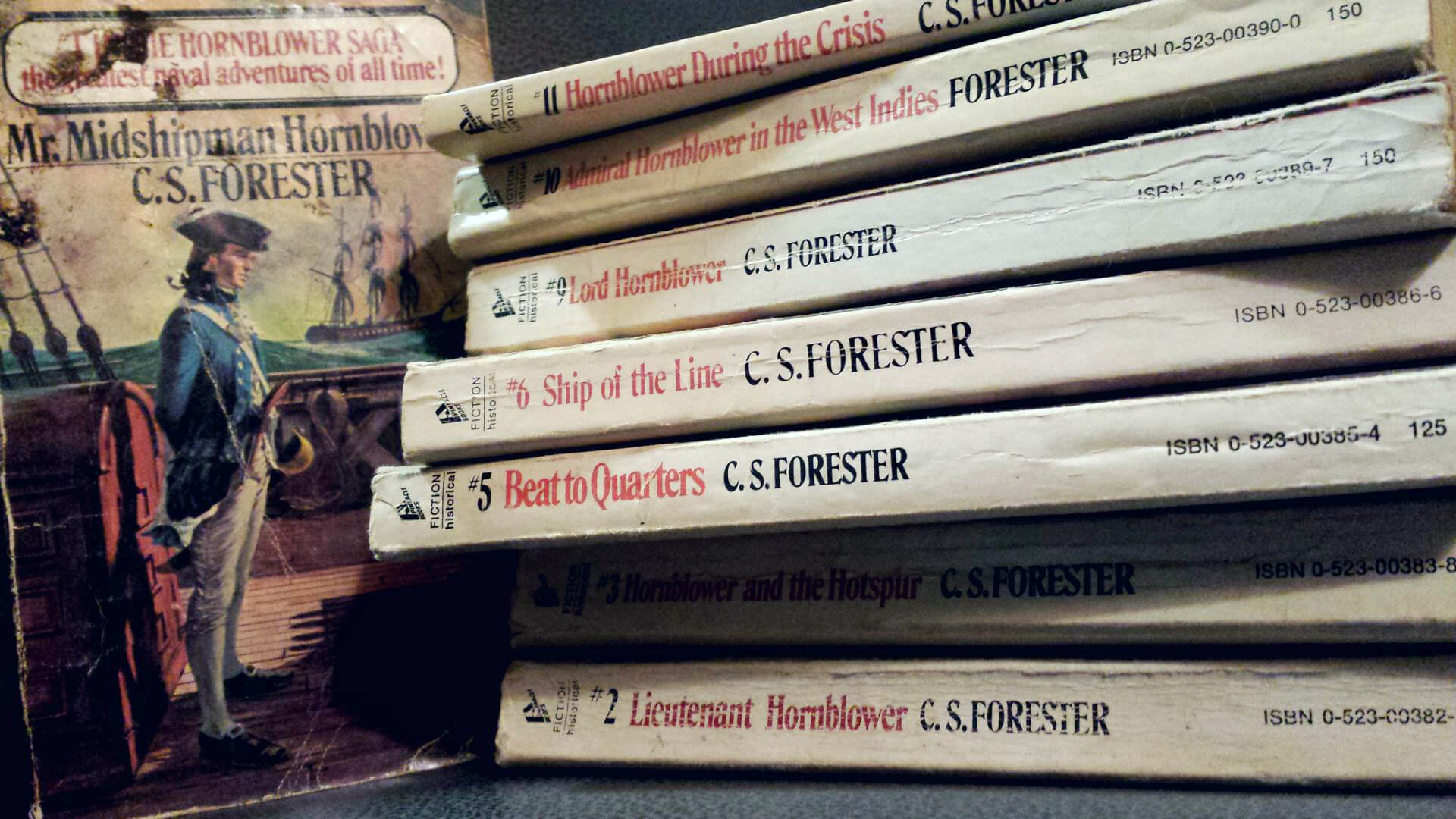 The Horatio Hornblower series, C. S. Forester
