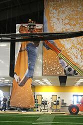 Sanford Fieldhouse murals