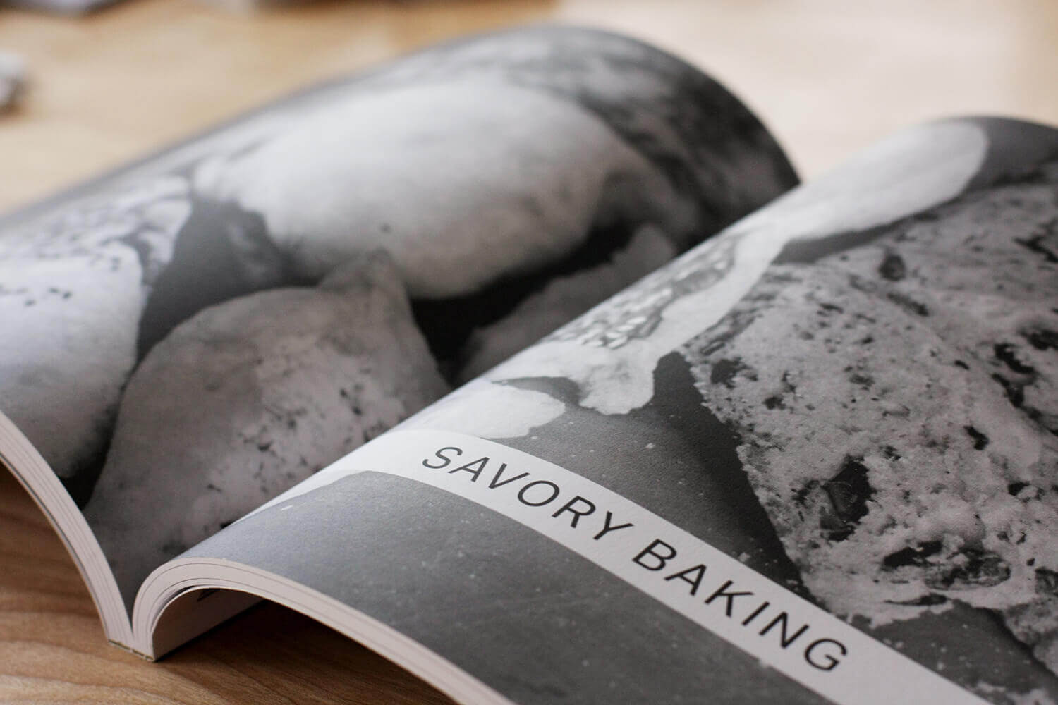 Sanaa's cookbook design: Chapter opening