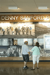 Denny Sanford Premier Center Timeline Display