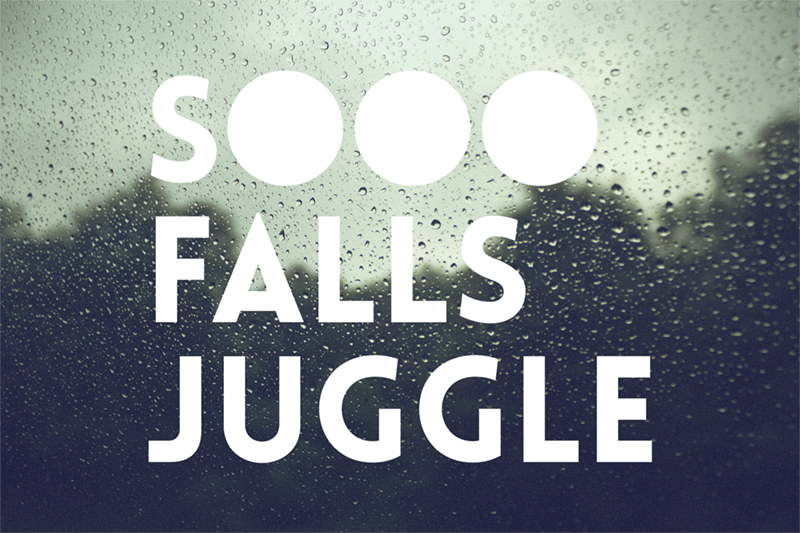 Sometimes it rains in Sioux Falls–today we're juggling at the Bakery