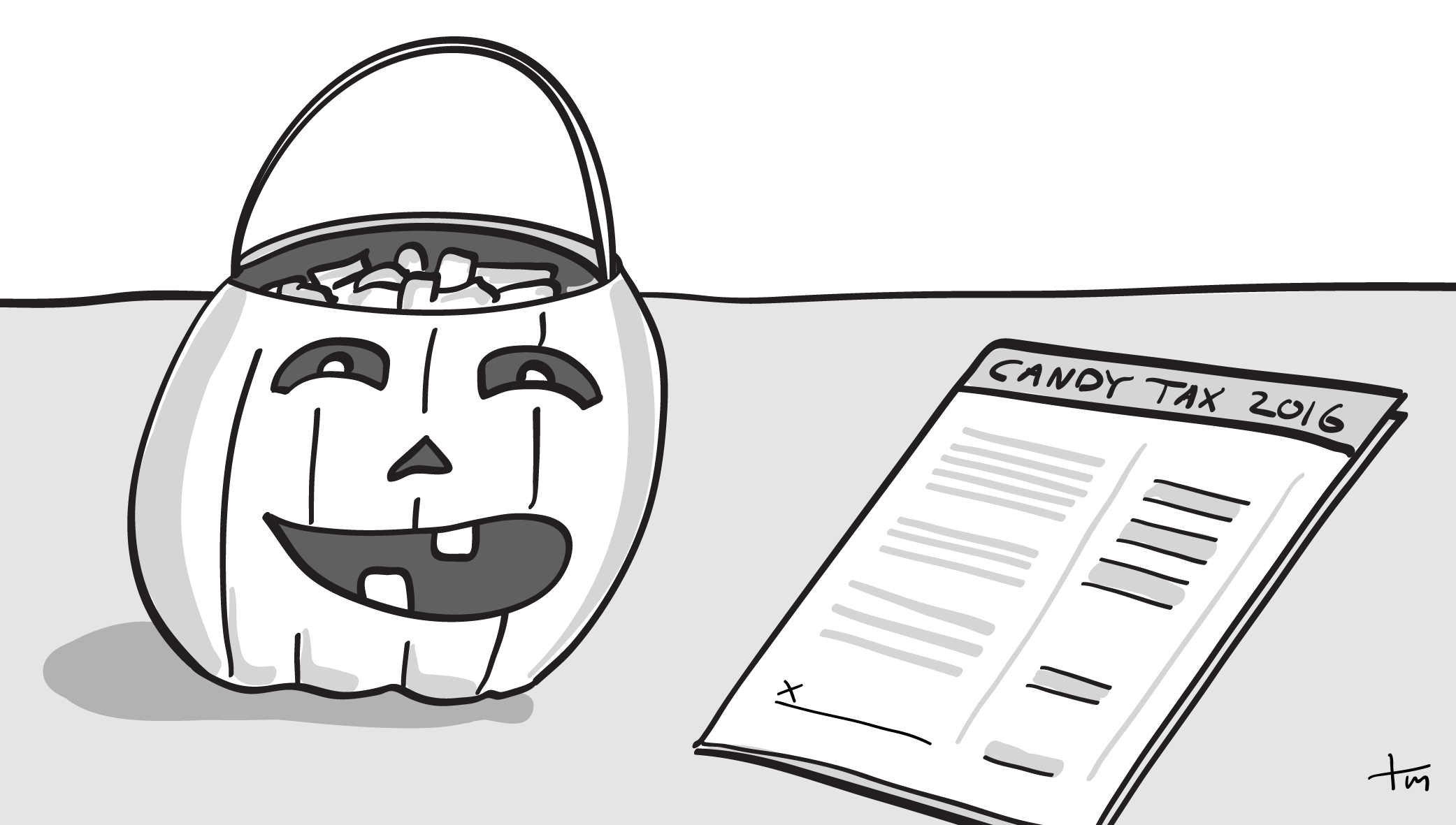 A Halloween lesson in civic duty