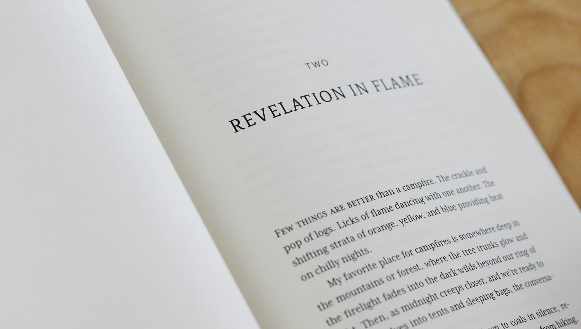 Chapter open–Revelation in flame