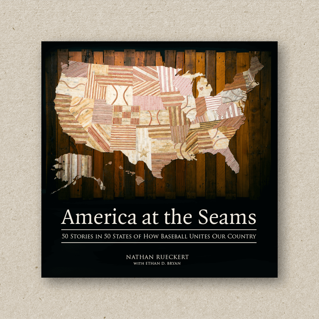 America At The Seams (cover design and book design)