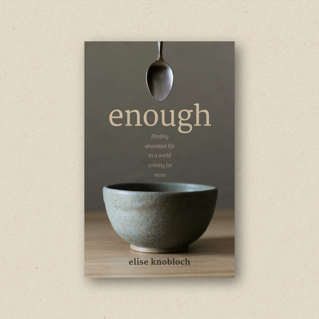 Enough (cover design and book design)