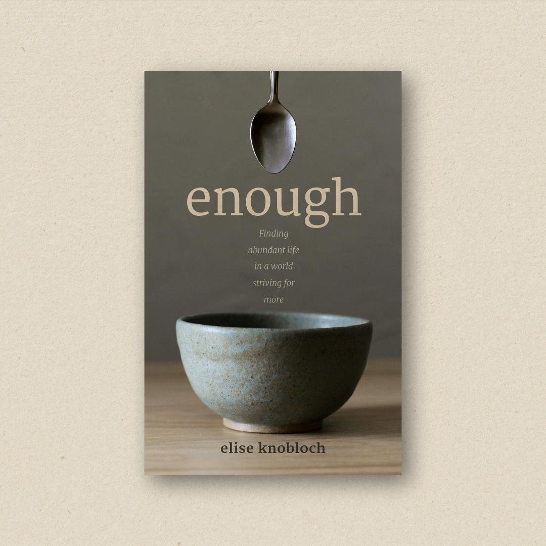 Enough (cover design and book design)