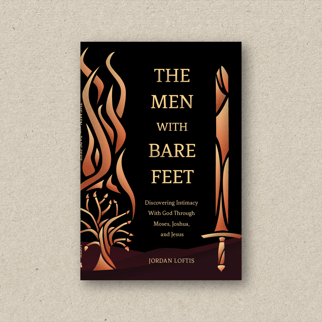 The Men With Bare Feet  (cover design and book design)