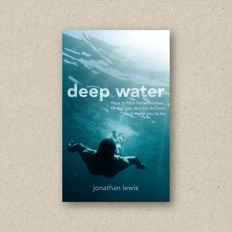 Book design portfolio _deep water