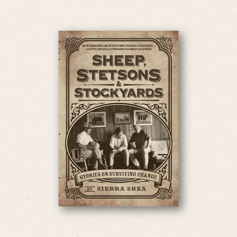 Book design portfolio _sheep stetsons and stockyards