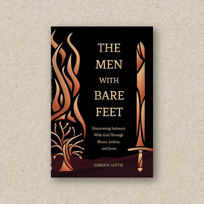 Book design portfolio _the men with bare feet