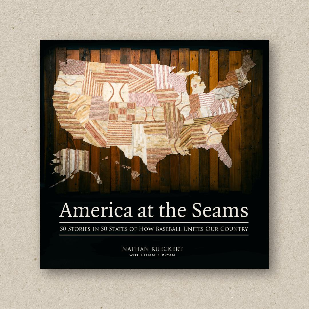 America At The Seams (cover design and book design)