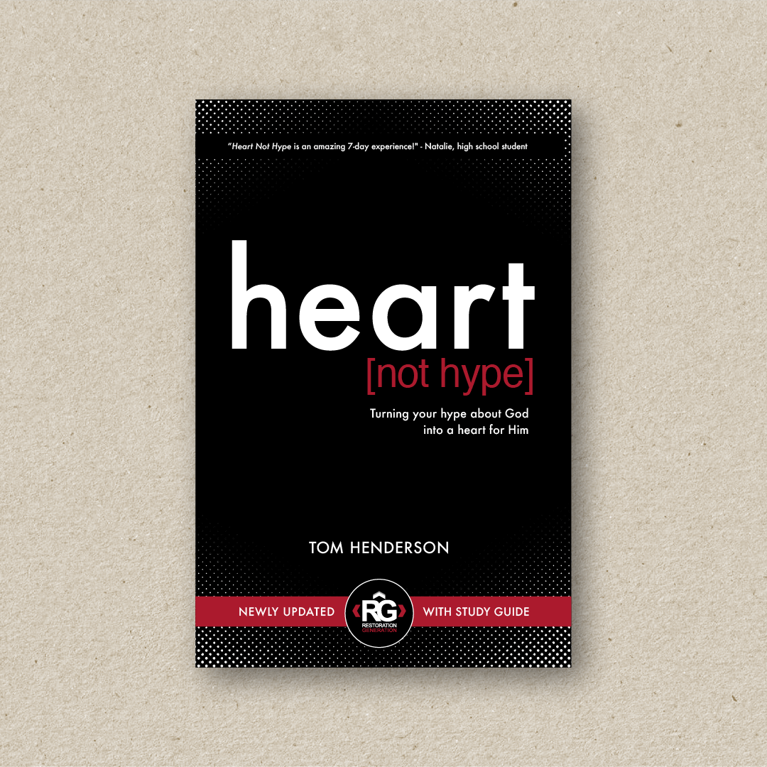 Heart Not Hype  (cover design and book design)