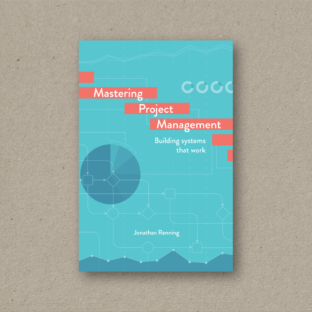 Mastering Project Management  (cover design)