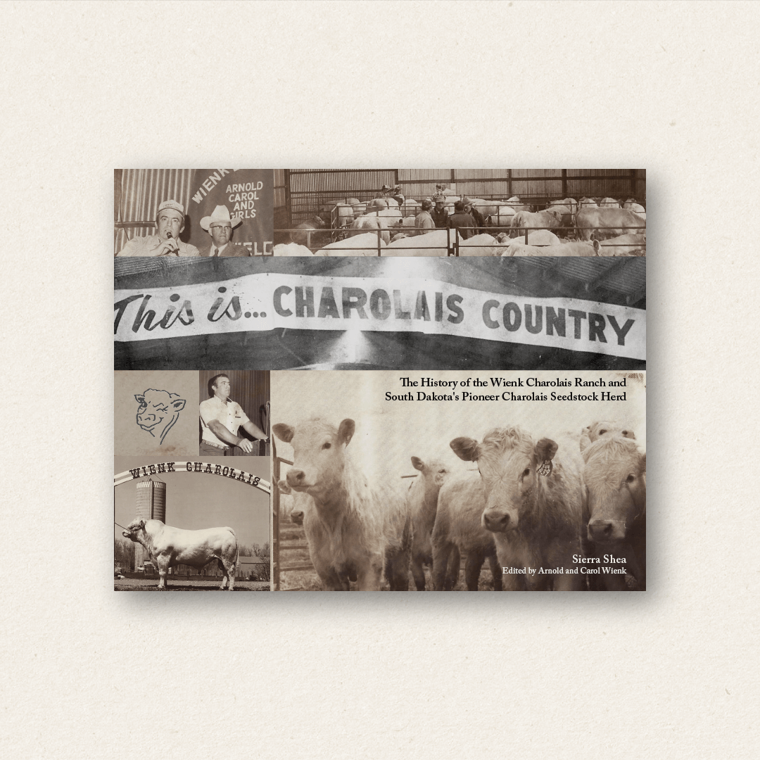 This is Charolais Country (cover design and book design)