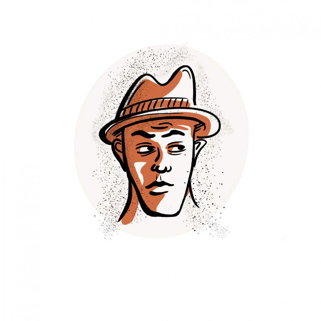 suspicious hat